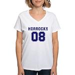 Horrocks 08 Women's V-Neck T-Shirt