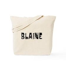 Blaine Faded (Black) Tote Bag
