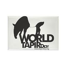 Rectangle Magnet: 'World Tapir Day'