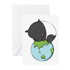 Greeting Cards (Pk of 20): 'Tapir on World'