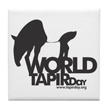 Tile Coaster: 'World Tapir Day'