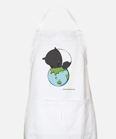 BBQ Apron: 'Tapir on World'