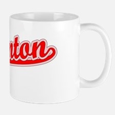 Retro Edmonton (Red) Small Mugs