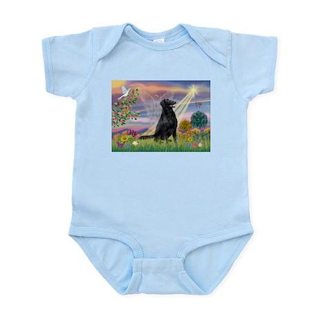 Cloud Angel Flat Coated Retri Infant Creeper