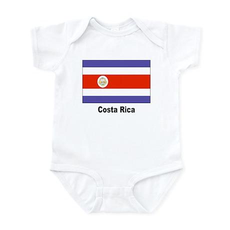 Costa Rica Flag Infant Creeper