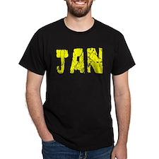 Jan Faded (Gold) T-Shirt