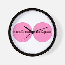 Mmm, Cupcakes! Wall Clock
