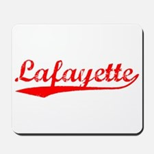 Vintage Lafayette (Red) Mousepad