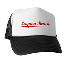 Vintage Laguna Beach (Red) Trucker Hat