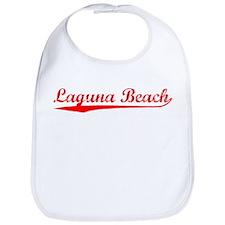 Vintage Laguna Beach (Red) Bib
