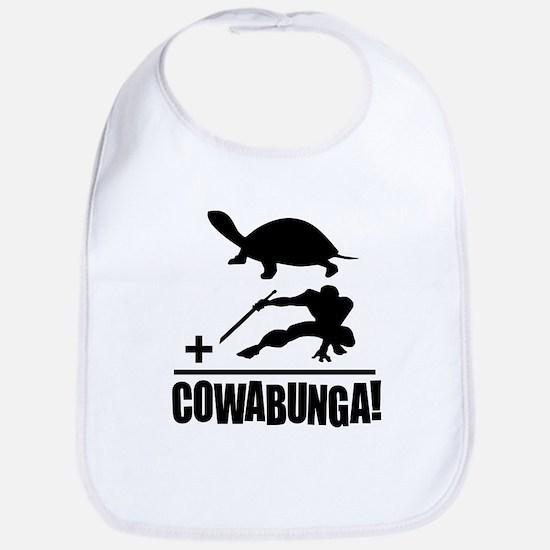 Cowabunga Bib