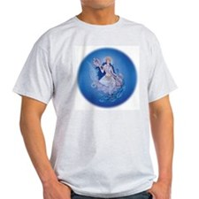 Saraswati Ash Grey T-Shirt