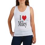 I Love Miley Women's Tank Top