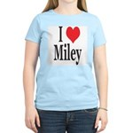 I Love Miley Women's Light T-Shirt