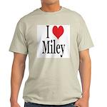 I Love Miley Light T-Shirt