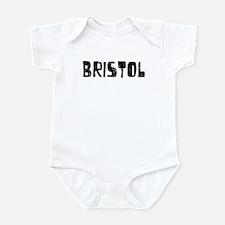 Bristol Faded (Black) Infant Bodysuit