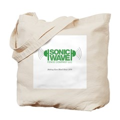 Sonic Wave Fence Company Tote Bag
