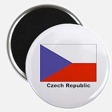 Czech Republic Flag Magnet