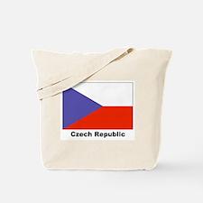 Czech Republic Flag Tote Bag