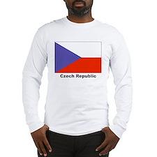 Czech Republic Flag Long Sleeve T-Shirt