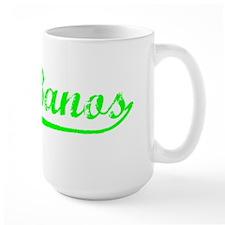Vintage Los Banos (Green) Mug