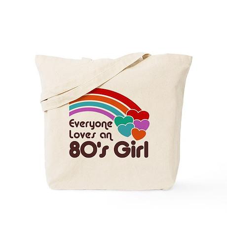 80's Girl Tote Bag
