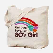 80's Girl Tote Bag