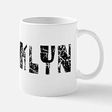 Brooklyn Faded (Black) Mug