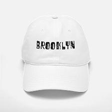 Brooklyn Faded (Black) Baseball Baseball Cap