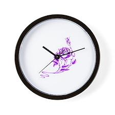 Funny Hand drawn Wall Clock