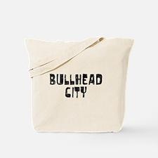 Bullhead City Faded (Black) Tote Bag
