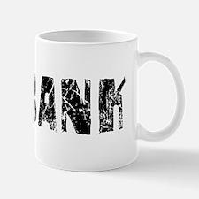 Burbank Faded (Black) Mug