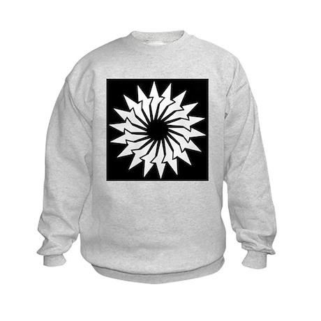 Abstract Image Kids Sweatshirt