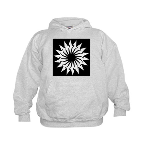 Abstract Image Kids Hoodie