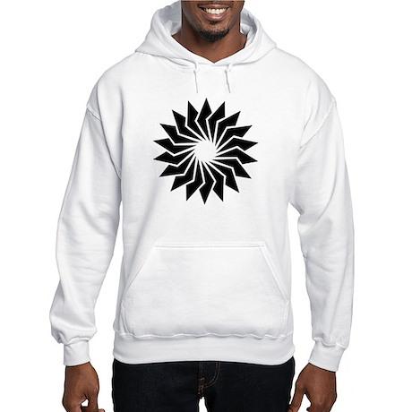Abstract Image Hooded Sweatshirt