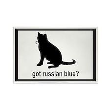 Got Russian Blue? Rectangle Magnet