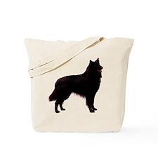 Black Belgian Shepherd Tote Bag