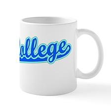 Retro State College (Blue) Mug