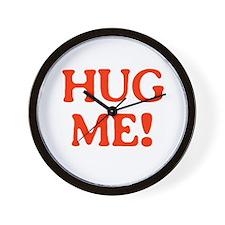 HUG ME! Wall Clock