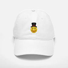 Top Hat Happy Face Baseball Baseball Cap