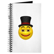 Top Hat Happy Face Journal