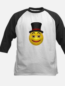 Top Hat Happy Face Tee