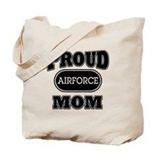 Proud Airforce Mom Tote Bag