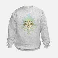 stylized Wolf Sweatshirt