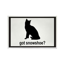 Got Snowshoe? Rectangle Magnet