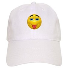 Cute Tongue Out Face Baseball Cap