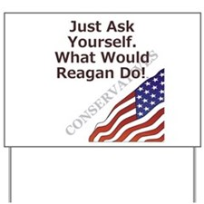 Conservative Mantra Yard Sign