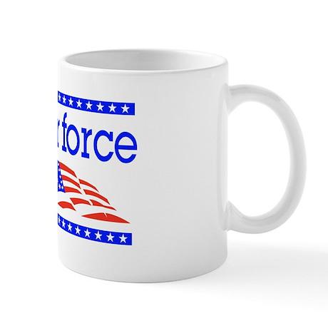 Proud Air force Mom Mug