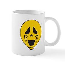 Scream Parody Smiley Face Mug