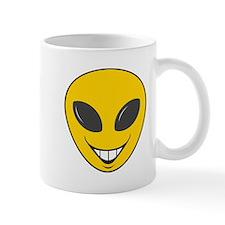 Alien Smiley Face Mug